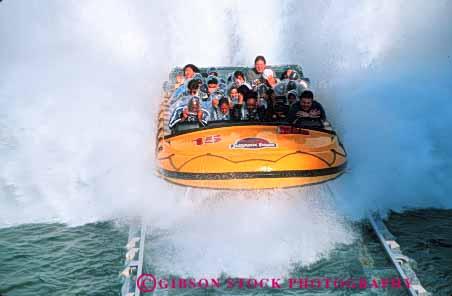 - Jurassic Park water ride Universal Studios Los Angeles California