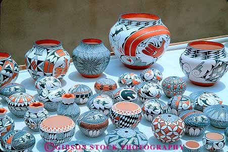 Native american painted clay bowls for sale acoma sky city for Native crafts for sale